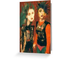 Pretty Vacant Greeting Card