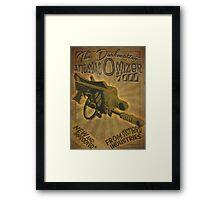Ray gun #2 - DarkMatter Anitiatomizer Framed Print