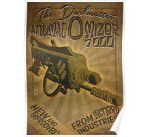 Ray gun #2 - DarkMatter Anitiatomizer Poster