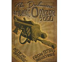 Ray gun #2 - DarkMatter Anitiatomizer Photographic Print