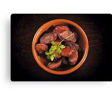 Mexican Chorizo Canvas Print