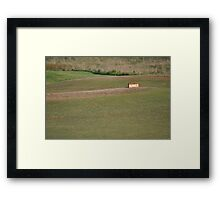 Moonah Links Series #95 Framed Print