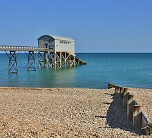 Selsey Lifeboat Pier #2 by Matthew Floyd
