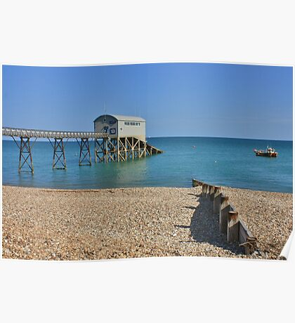 Selsey Lifeboat Pier #2 Poster