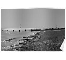 Selsey Beach #1 Poster