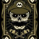 Dead Plumber - Prints, Stickers, iPhone and iPad Cases by monochromefrog