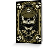 Dead Plumber - Prints, Stickers, iPhone and iPad Cases Greeting Card