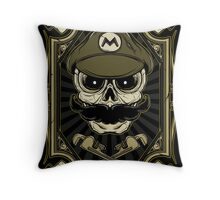 Dead Plumber - Prints, Stickers, iPhone and iPad Cases Throw Pillow