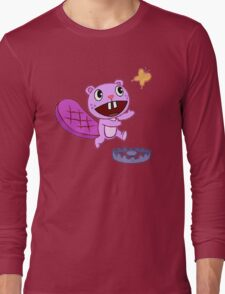 Happy Tree Friends - T-Shirt - Toothy Butterfly. Long Sleeve T-Shirt
