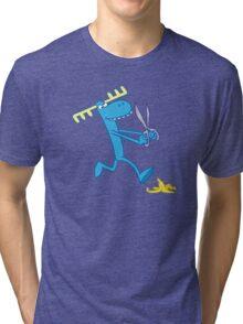 Happy Tree Friends - T-Shirt - Lumpy. Tri-blend T-Shirt