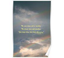 God helps Poster