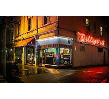 Pellegrinis Espresso Bar Photographic Print
