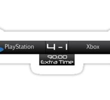 PS4 vs XBOX One Scoreboard Sticker