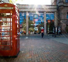 Red Phone box by Giuseppe Digno