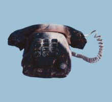 Burnt Telephone by Zorro Gamarnik Kids Clothes