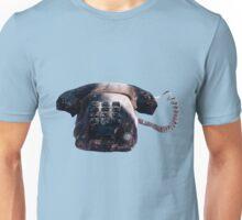Burnt Telephone by Zorro Gamarnik Unisex T-Shirt