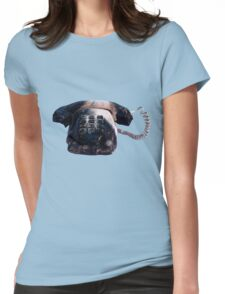 Burnt Telephone by Zorro Gamarnik Womens Fitted T-Shirt