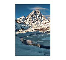 the matterhorn Photographic Print