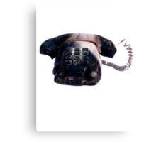 Burnt Telephone by Zorro Gamarnik Canvas Print