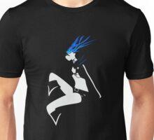 Black Rock Shooter negative space Unisex T-Shirt