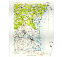 USGS TOPO Map New Hampshire NH Exeter 330031 1932 62500 Poster