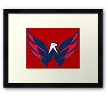 NHL - Washington Capitals Logo Framed Print