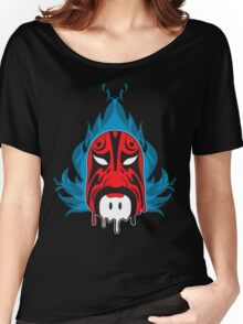 Mask - Blue Flame II Women's Relaxed Fit T-Shirt
