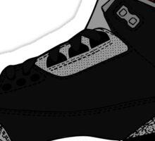 J3 Black Cement Sticker