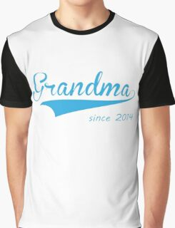 grandma since 2014 Graphic T-Shirt