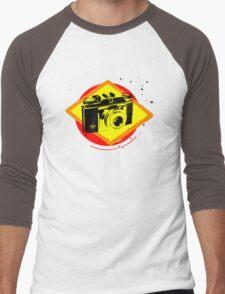 Agfa Silette Men's Baseball ¾ T-Shirt