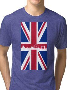 British Flag Tri-blend T-Shirt