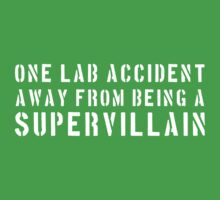 One lab accident from a supervillan by contoured