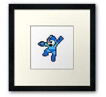 Mega Man 8-Bit HD Framed Print
