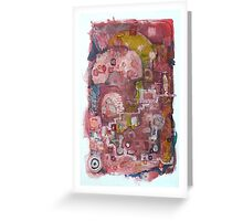 Old telephone call. Greeting Card