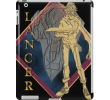 Lancer Defense Soldier Reiji Akaba iPad Case/Skin