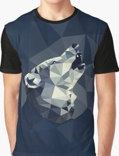 POLY : Wolf Howl Graphic T-Shirt
