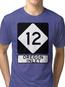 NC 12 - Oregon Inlet Tri-blend T-Shirt