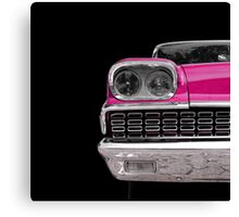 Classic (pink) Canvas Print