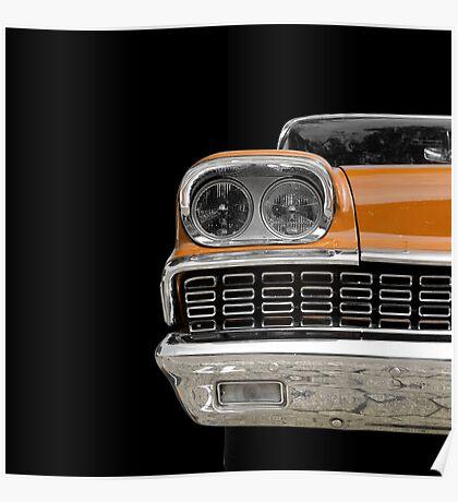 Classic (orange) Poster
