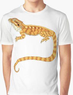 bearded dragon watercolour  Graphic T-Shirt