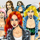 Metal Chicks 2013 by MetalheadMerch
