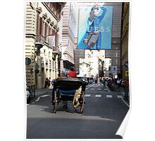 la carrozzella fiorentina Poster