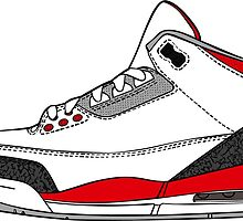 J3 Fire Red by tee4daily