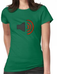 Stereo Sound (Richard Tee) Womens Fitted T-Shirt