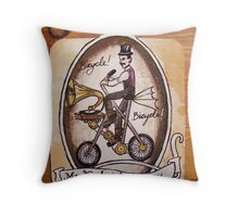 Mr. Frederick Mercury Throw Pillow