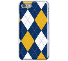 Michigan Argyle iPhone Case/Skin