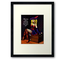 Scary Delicious  Framed Print