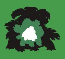 Bulbasaur - Ivysaur - Venasaur Evolution by Jack Rinderknecht