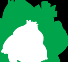 Bulbasaur - Ivysaur - Venasaur Evolution Sticker