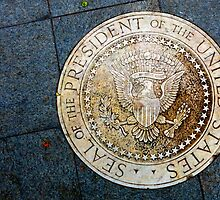 SEAL of the PRESIDENT of the UNITED STATES by Charlie-R